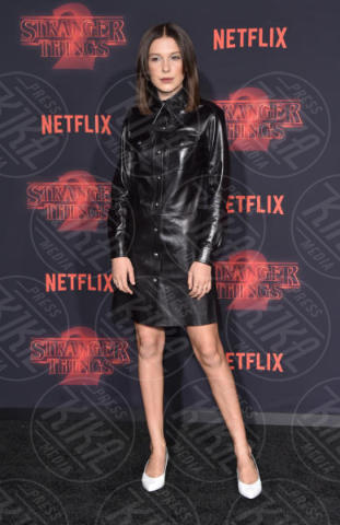 Millie Bobby Brown - Westwood - 27-10-2017 - Stranger Things atto secondo: la premiere hollywoodiana