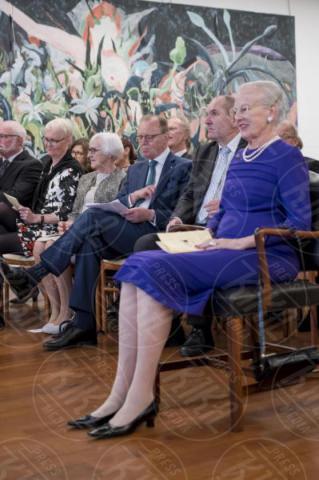 Accademia di Danimarca Roma, Regina Margherita di Danimarca - Roma - 27-10-2017 - Margherita II di Danimarca visita l'Istituto danese a Roma