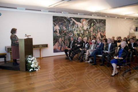 Accademia di Danimarca Roma, Presentazione progetto Scavi, Regina Margherita di Danimarca - Roma - 27-10-2017 - Margherita II di Danimarca visita l'Istituto danese a Roma