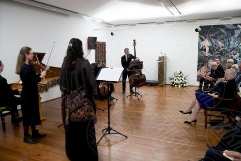 Accademia di Danimarca Roma, Orchestra - Roma - 27-10-2017 - Margherita II di Danimarca visita l'Istituto danese a Roma