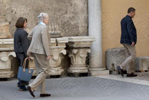 Regina Margherita di Danimarca - Roma - 28-10-2017 - La Regina Margherita visita Tarquinia e l'antica Etruria