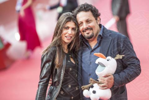 Flora Canto, Enrico Brignano - Roma - 29-10-2017 - Festa del Cinema: il red carpet di Brignano e Serena Rossi