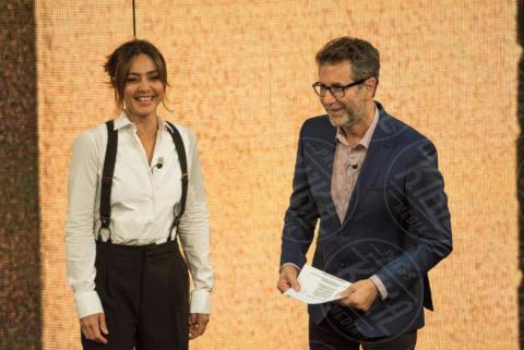 Fabio Fazio, Ambra Angiolini - Roma - 30-10-2017 - Che Fuori Tempo che Fa: Ambra Angiolini in versione teatrale
