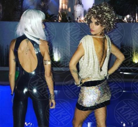 Maddalena Corvaglia, Elisabetta Canalis - Hollywood - 31-10-2017 - Halloween: dalla Chiabotto a Lady Gaga, i costumi delle star