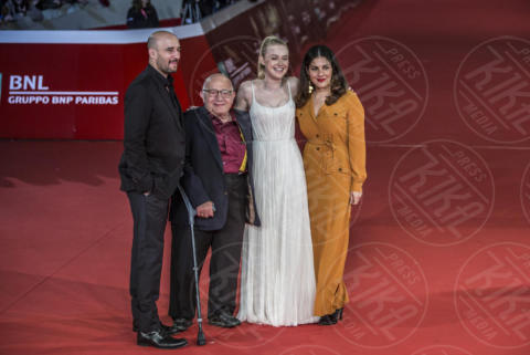 Ben Lewin, Lara Alameddine, Daniel Dubiecki, Dakota Fanning - Roma - 31-10-2017 - Festa di Roma: Dakota Fanning in bianco sul red carpet