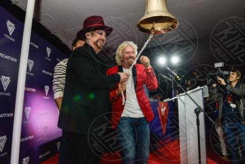 Richard Branson, Boy George - Sestri Ponente - 01-11-2017 - Richard Branson show a Sestri Levante