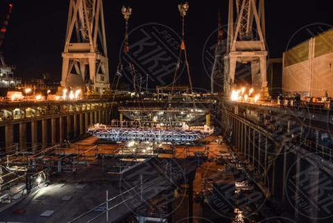 Virgin Voyages - Sestri Ponente - 01-11-2017 - Richard Branson show a Sestri Levante