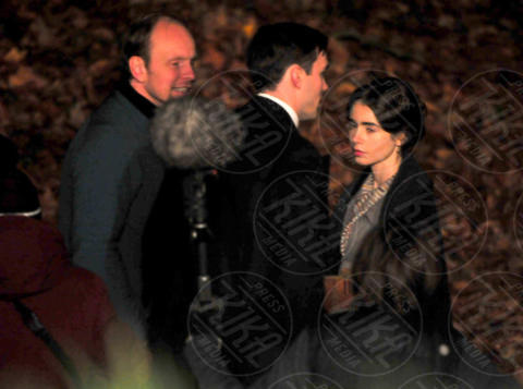 Nicholas Hoult, Lily Collins - Liverpool - 01-11-2017 - Nicholas Hoult e Lily Collins, il signore e la signora Tolkien