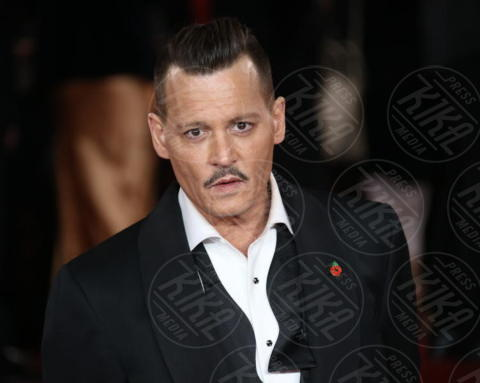 Johnny Depp - Londra - 02-11-2017 - Il re del box office? Per Forbes è proprio lui!