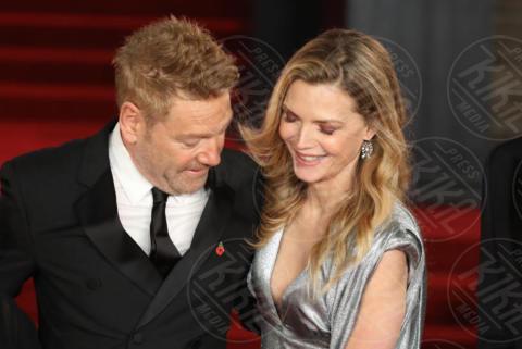 Kenneth Branagh, Michelle Pfeiffer - Londra - 02-11-2017 - Michelle Pfeiffer-Penelope Cruz, cosa chiedere di più?