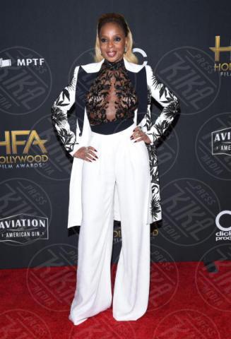 Mary J. Blige - Beverly Hills - 05-11-2017 - Angelina Jolie raggiante e bellissima agli Hollywood Film Awards