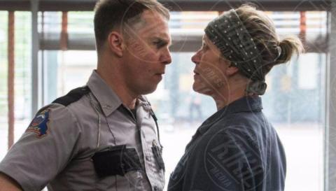 Three Billboards Outside Ebbing, Missouri, Frances Mcdormand, Sam Rockwell - Los Angeles - 05-11-2017 - Antipasto di Oscar agli Hollywood Film Awards 2017