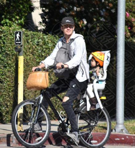 Briar Rose Christensen, Hayden Christensen - Brentwood - 06-11-2017 - Hayden Christensen, un mammo (ciclista) coi fiocchi