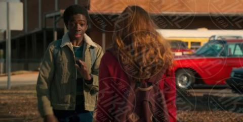 Caleb McLaughlin, Sadie Sink - Los Angeles - 07-11-2017 - Stranger Things, la 15enne Sadie Sink costretta a dare un bacio