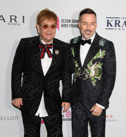 David Furnish, Elton John - New York - 08-11-2017 - Hilaria Baldwin aspetta il quarto figlio: ecco il pancino!