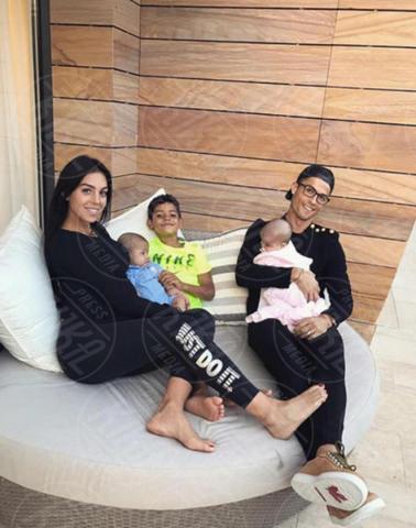 Georgina Rodriguez, Cristiano Ronaldo - Milano - 08-11-2017 - Cristiano Ronaldo ancora papà: è nata Alana Martina