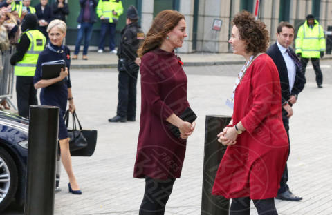 Catherine Roche CEO of Place2Be, Kate Middleton - Londra - 08-11-2017 - Kate Middleton, principessa di stile... anche premaman!