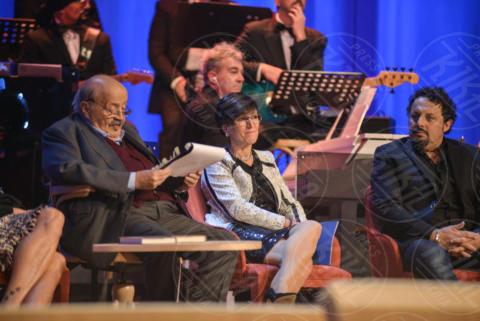Maurizio Costanzo, Enrico Brignano - Roma - 08-11-2017 - Maurizio Costanzo Show: Ventura-Bettarini, di nuovo famiglia