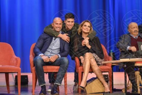 Nicolò Bettarini, Stefano Bettarini, Simona Ventura - Roma - 08-11-2017 - Maurizio Costanzo Show: Ventura-Bettarini, di nuovo famiglia