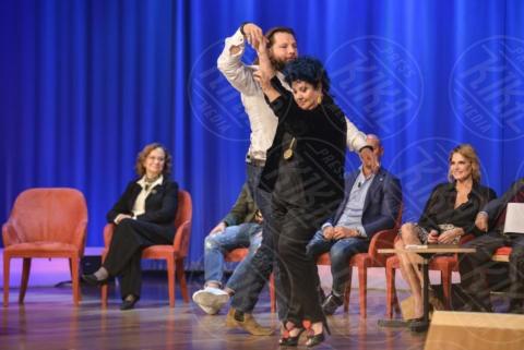 Marisa Laurito, Martin Castrogiovanni - Roma - 08-11-2017 - Maurizio Costanzo Show: Ventura-Bettarini, di nuovo famiglia