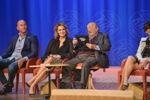 Maurizio Costanzo, Stefano Bettarini, Simona Ventura - Roma - 08-11-2017 - Maurizio Costanzo Show: Ventura-Bettarini, di nuovo famiglia
