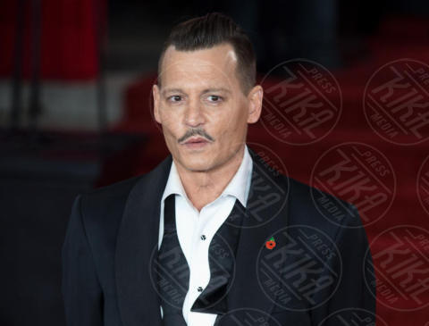 Johnny Depp - Londra - 02-11-2017 - Johnny Depp fa causa al The Sun per diffamazione