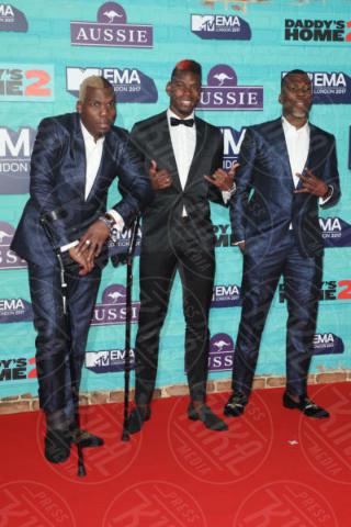 Mathias Pogba, brothers Florentin Pogba, Paul Pogba - Londra - 12-11-2017 - MTV EMA 2017: è il trionfo di Shawn Mendes