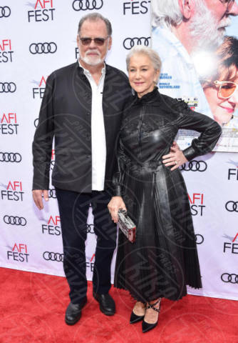 Taylor Hackford, Helen Mirren - Hollywood - 12-11-2017 - Helen Mirren, una dama in pelle nera per Ella & John