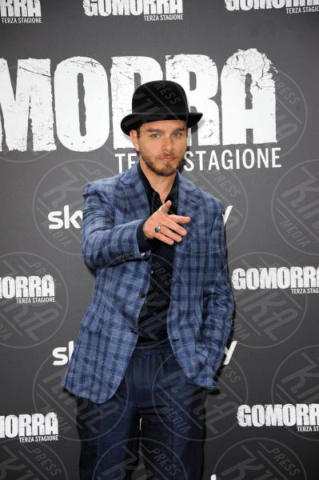 Arturo Muselli - Roma - 13-11-2017 - Gomorra is back: la terza stagione in anteprima al cinema!