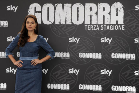 Ivana Lotito - Roma - 13-11-2017 - Gomorra is back: la terza stagione in anteprima al cinema!