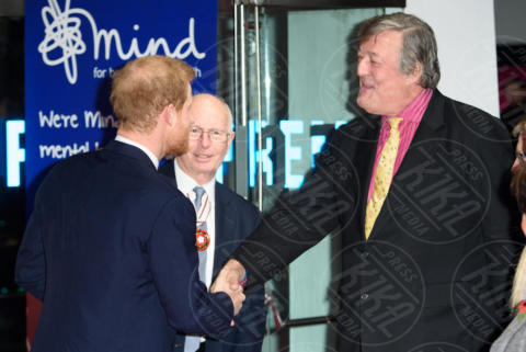 Prince Harry, Stephen Fry - Londra - 13-11-2017 - Principe Harry, dov'è finita Meghan Markle?