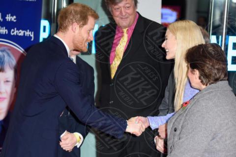 Fearne Cotton, Stephen Fry, Principe Harry - Londra - 13-11-2017 - Principe Harry, dov'è finita Meghan Markle?