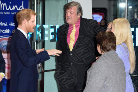 Prince Harry, Fearne Cotton, Stephen Fry - Londra - 13-11-2017 - Principe Harry, dov'è finita Meghan Markle?