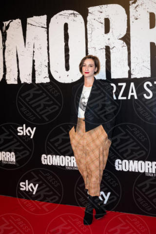 Francesca Inaudi - Roma - 13-11-2017 - Gomorra is back: la terza stagione in anteprima al cinema!