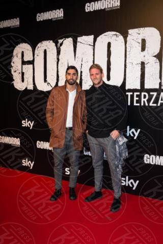 Lorenzo Antonelli, Filippo Magnini - Roma - 13-11-2017 - Gomorra is back: la terza stagione in anteprima al cinema!