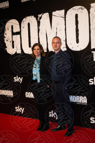 Claudio Cupellini, Francesca Comencini - Roma - 13-11-2017 - Gomorra is back: la terza stagione in anteprima al cinema!