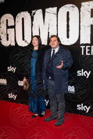 Antonio Gerardi - Roma - 13-11-2017 - Gomorra is back: la terza stagione in anteprima al cinema!