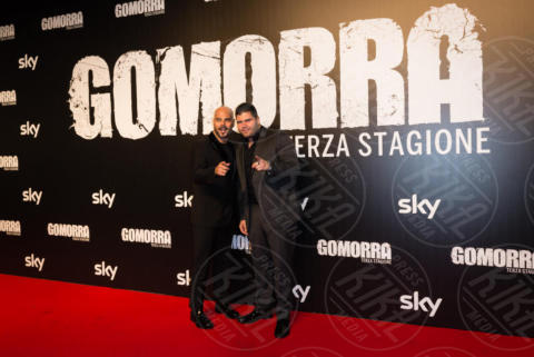 Salvatore Esposito, Marco D'Amore - Roma - 13-11-2017 - Gomorra is back: la terza stagione in anteprima al cinema!