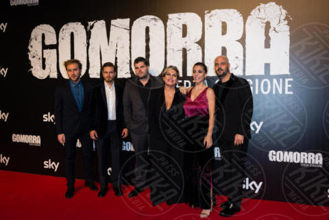 Loris De Luna, Arturo Muselli, Cristina Dell'Anna, Salvatore Esposito - Roma - 13-11-2017 - Gomorra is back: la terza stagione in anteprima al cinema!