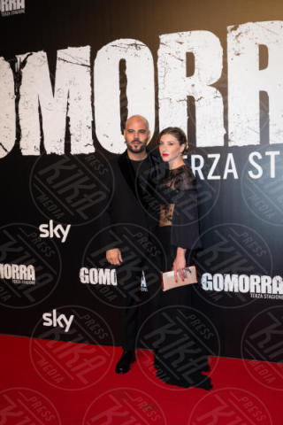 Daniela Maiorana, Marco D'Amore - Roma - 13-11-2017 - Gomorra is back: la terza stagione in anteprima al cinema!