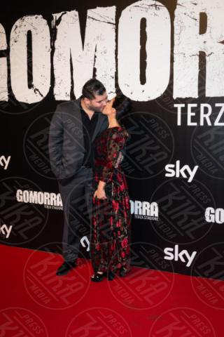 Paola Rossi, Salvatore Esposito - Roma - 13-11-2017 - Gomorra is back: la terza stagione in anteprima al cinema!