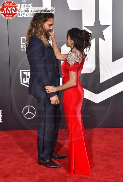 Jason Momoa, Lisa Bonet - Hollywood - 13-11-2017 - Le celebrity in coppia che non sapevi fossero... coppie!