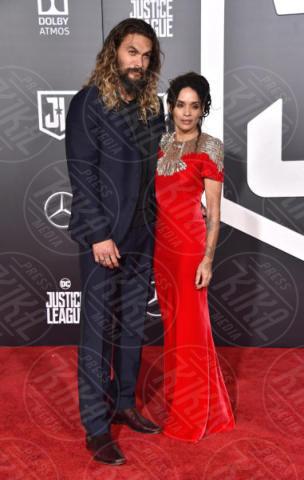 Jason Momoa, Lisa Bonet - Hollywood - 13-11-2017 - Amber Heard in Versace è il trionfo del vedo non vedo