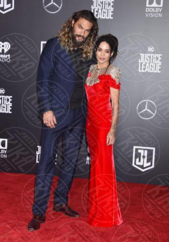 Jason Momoa, Lisa Bonet - Los Angeles - 14-11-2017 - Le celebrity in coppia che non sapevi fossero... coppie!