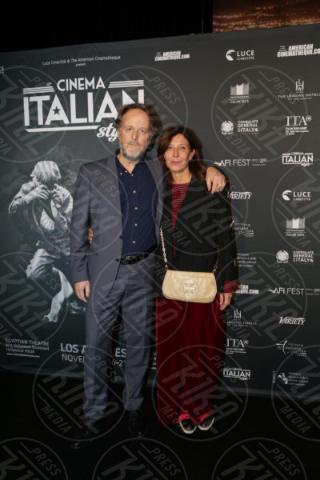Raffaella Lebboroni, Francesco Bruni - Los Angeles - 15-11-2017 - Claudio Santamaria è la stella del Cinema Italian Style 2017