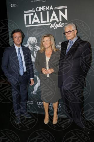 Florindo Blandolino, Valeria Rumori, Antonio Verde - Los Angeles - 15-11-2017 - Claudio Santamaria è la stella del Cinema Italian Style 2017