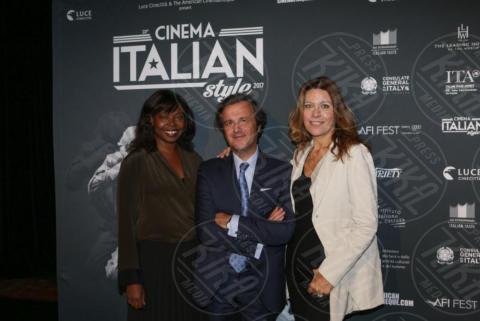 Florindo Blandolino, Camilla Cormanni, Jacqueline Lyanga - Los Angeles - 15-11-2017 - Claudio Santamaria è la stella del Cinema Italian Style 2017