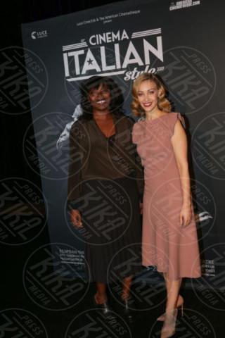 Sarah Gadon, Jacqueline Lyanga - Los Angeles - 15-11-2017 - Claudio Santamaria è la stella del Cinema Italian Style 2017