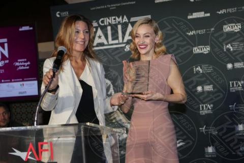 Camilla Cormanni, Sarah Gadon - Los Angeles - 15-11-2017 - Claudio Santamaria è la stella del Cinema Italian Style 2017