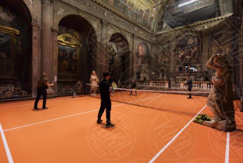 chiesa sconsacrata di San Converso - Milano - 16-11-2017 - A Milano puoi giocare a tennis... in chiesa!